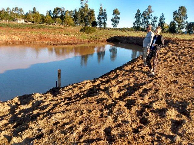 Construção de açudes contribui com reserva de água em São Miguel das Missões