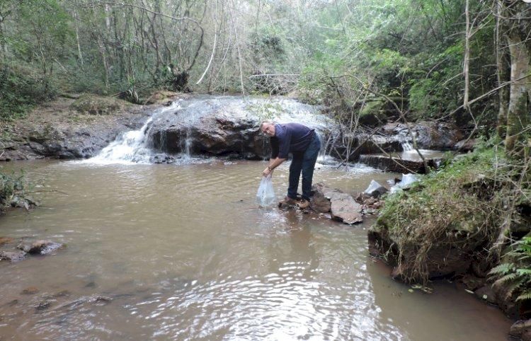 Repovoamento de rios em Santo Cristo