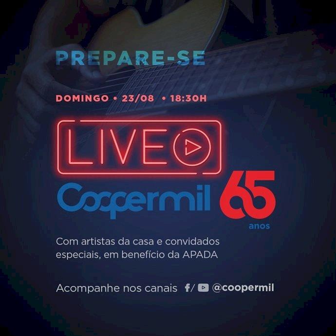 COOPERMIL fará live para comemorar os 65 anos
