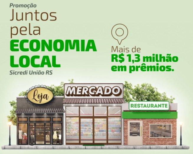 Começou a promoção Juntos pela economia local