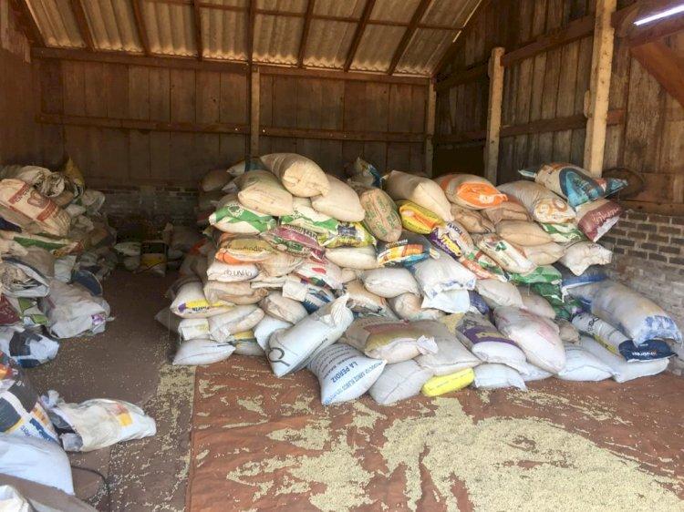 Operação apreende 102 toneladas de soja ilegal