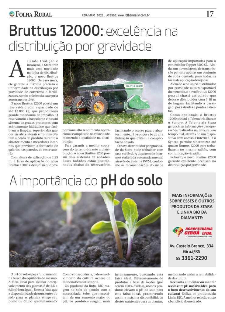 Folha Rural circulando em mais de 30 municípios da região