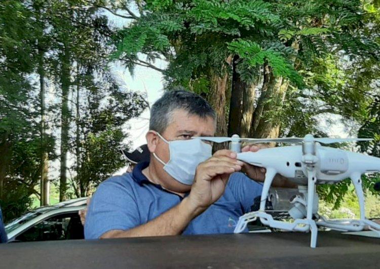 Uso de drones na agricultura é tema de novo curso à distância da Unitec