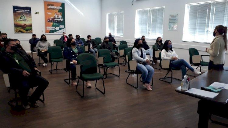 Jovens Aprendizes iniciam parte prática na Cotrirosa