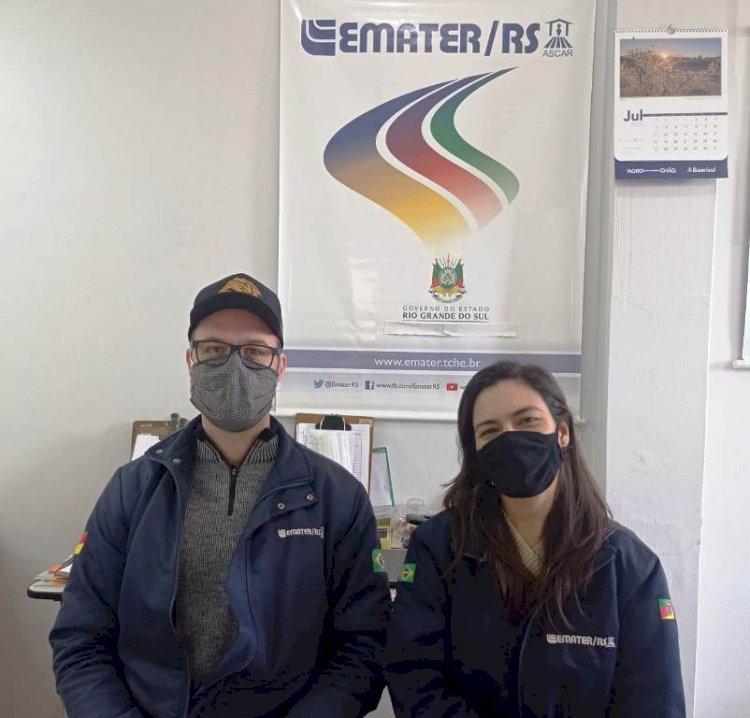 Escritório Municipal da Emater/RS-Ascar completa 24 anos em Porto Mauá
