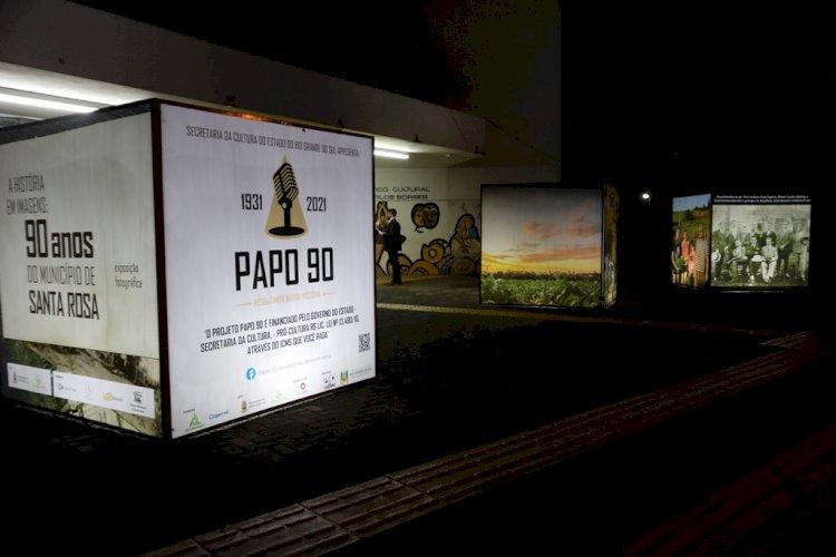Projeto que resgata 90 histórias de Santa Rosa é lançado no Aniversário do Município